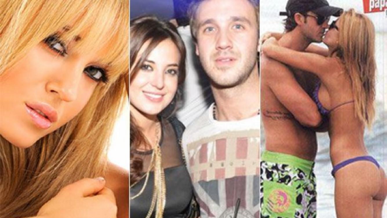 Jésica Cirio se separó de Lucas Bernardi. (Fotos: archivo Web y revista Paparazzi)