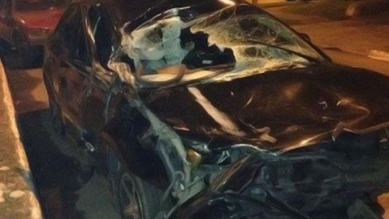 Antonio Ríos sufrió un grave accidente automovilístico (Foto: @dannygallo2004).
