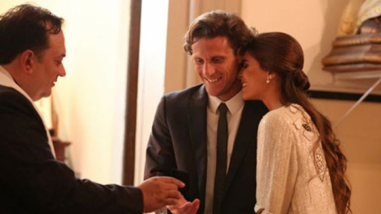 Diego Forlán se casó con Paz Cardoso. (Foto: Diego Piuma)