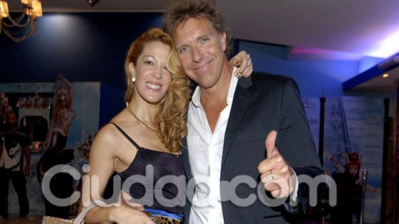 Alejandro Fantino y Miriam Lanzoni, juntos. (Foto: archivo Ciudad.com)