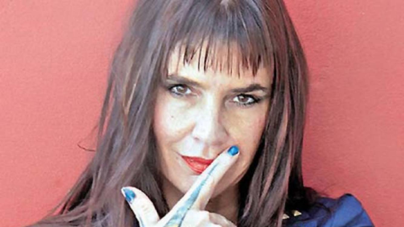 Fabiana Cantilo, indignada tras sufrir el robo a su casa. (Foto: Web)