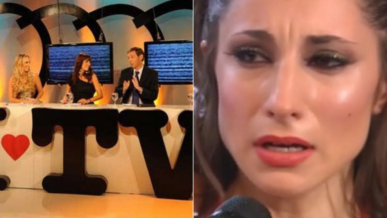 Magui Bravi se fue llorando de Yo amo a la TV. (Fotos: archivo Web)