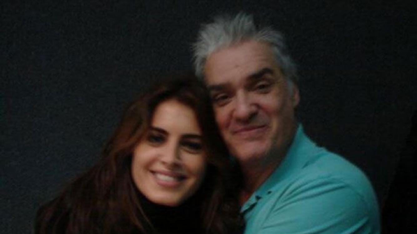 Silvina Luna junto a Roberto Pettinato en la radio (Foto: La 100).