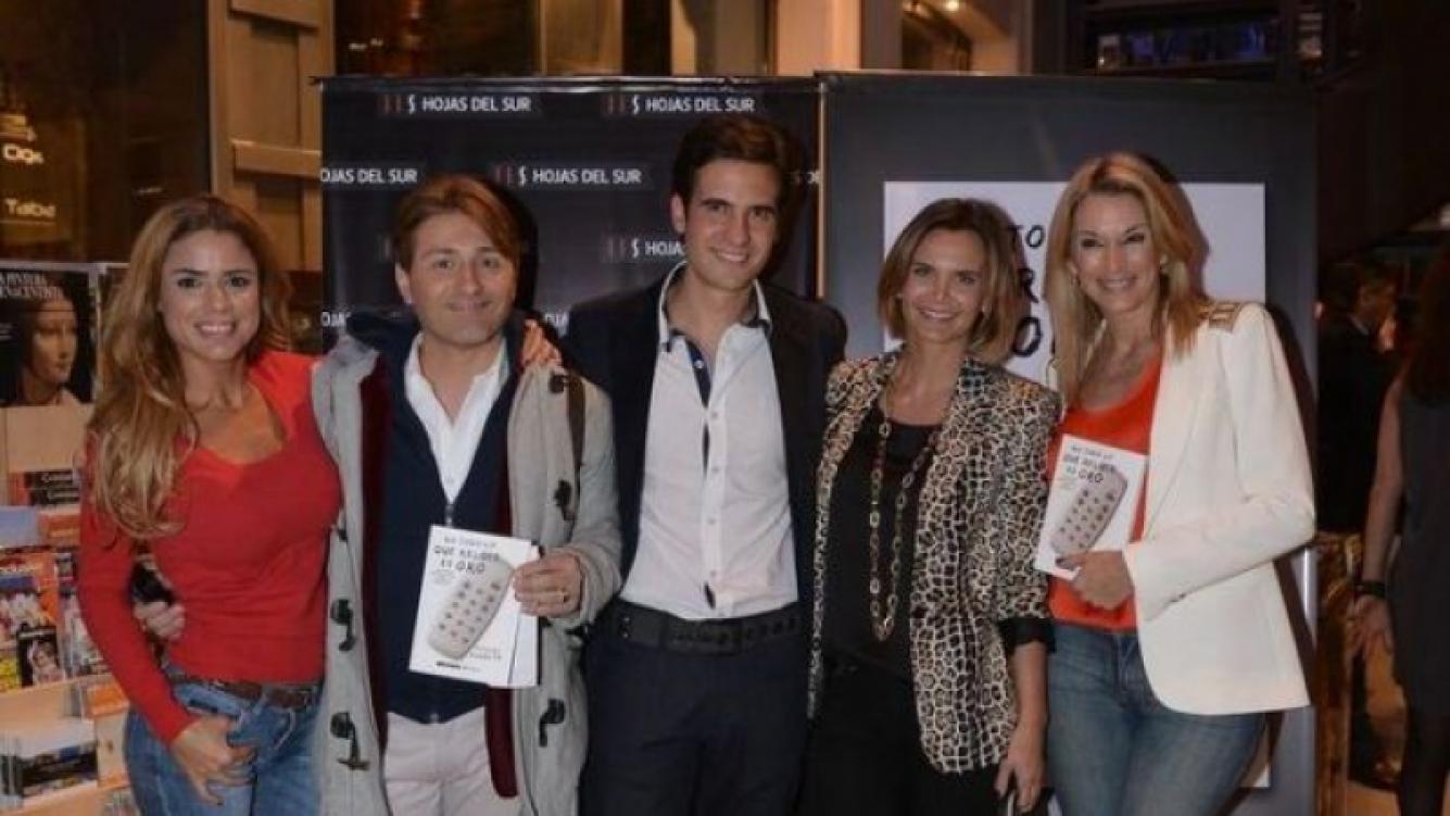 Los famosos dijeron presente en la presentación del libro de Nico Peralta (Foto: Prensa).
