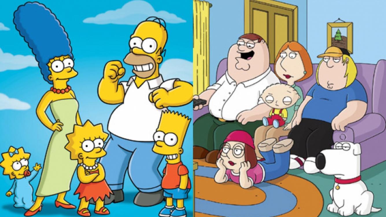 Encuentro de dos mundos: Los Simpson y Padre de Familia se cruzarán en un capítulo esepcial. (Foto: Web)