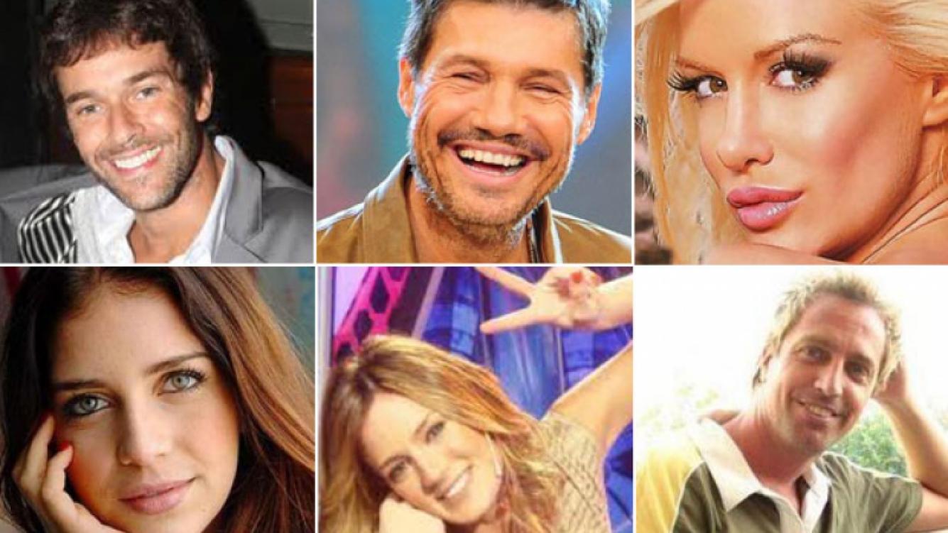 Los famosos y sus saludos por el Día del Amigo. (Fotos: Web)