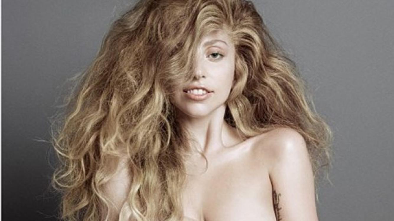 El desnudo de Lady Gaga para la portada de V Magazine (Foto: Twitter).