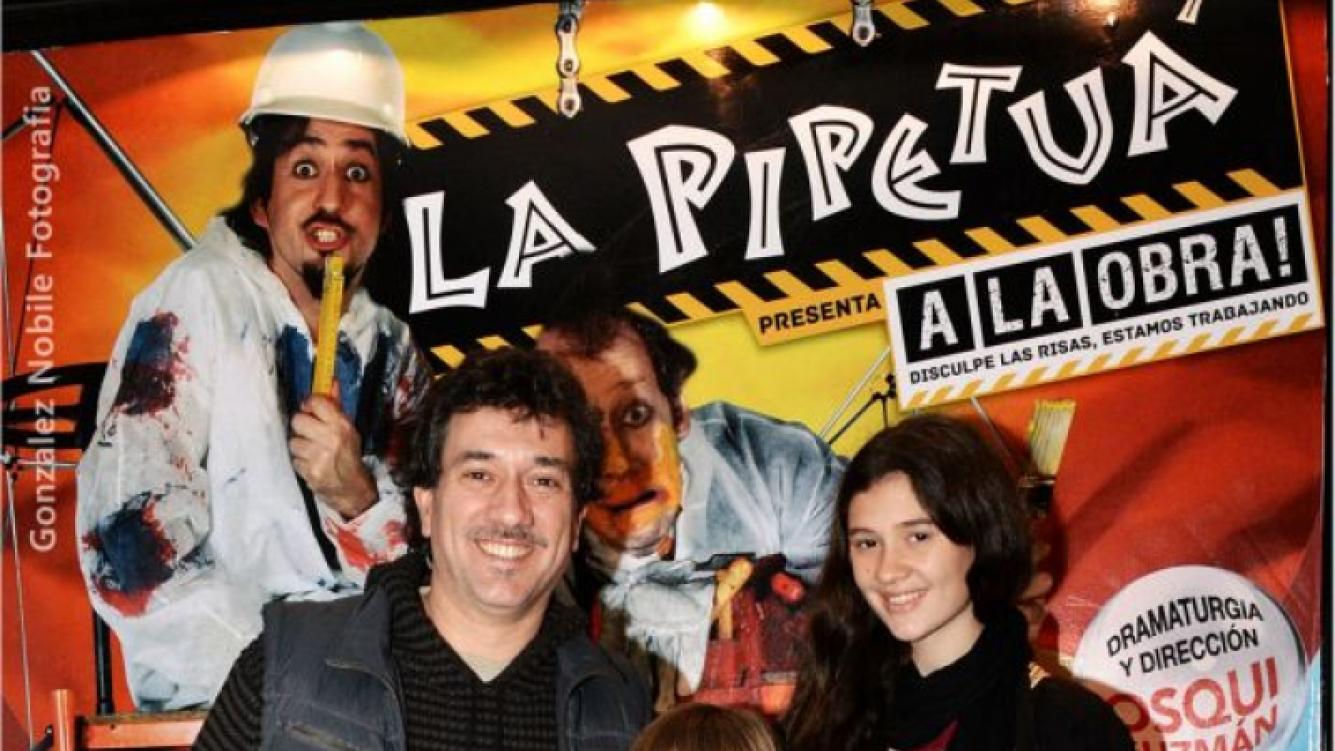 Alejo García Pintos también fue de la partida (Foto: Débora Lachter Comunicación y Prensa).
