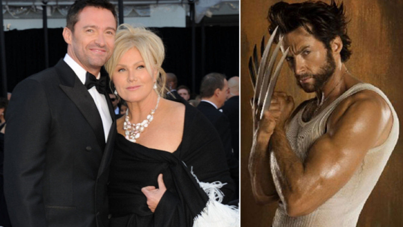 Hugh Jackman usa su disfraz de Wolverine para tener sexo con su esposa (Fotos: Web).