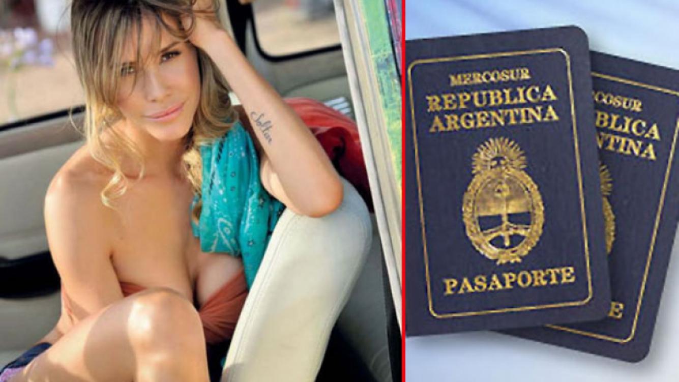 Guillermina Valdés, indignada por el hurto de su pasaporte y el de sus tres hijos. (Foto: Web)