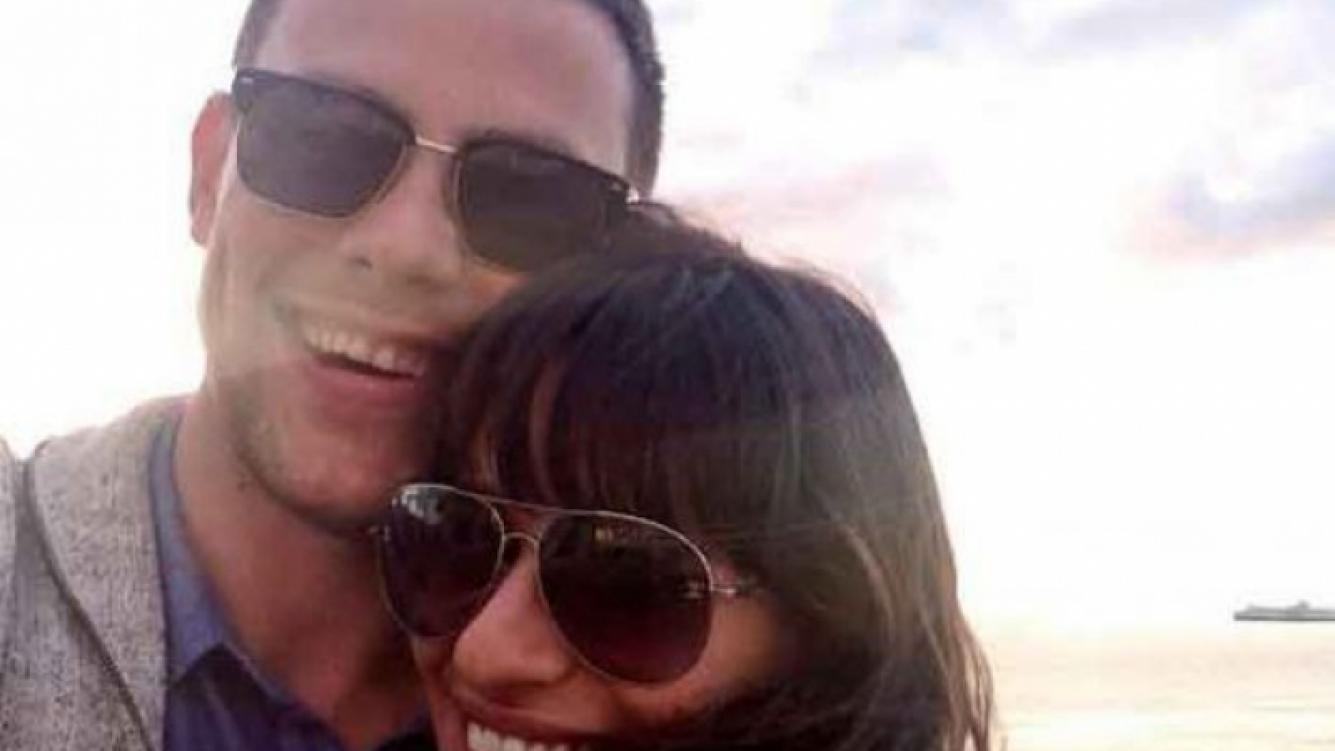 Lea Monteith y la foto que subió junto a Cory Monteith en tiempos felicito. (Foto: Twitter @msleamichele)