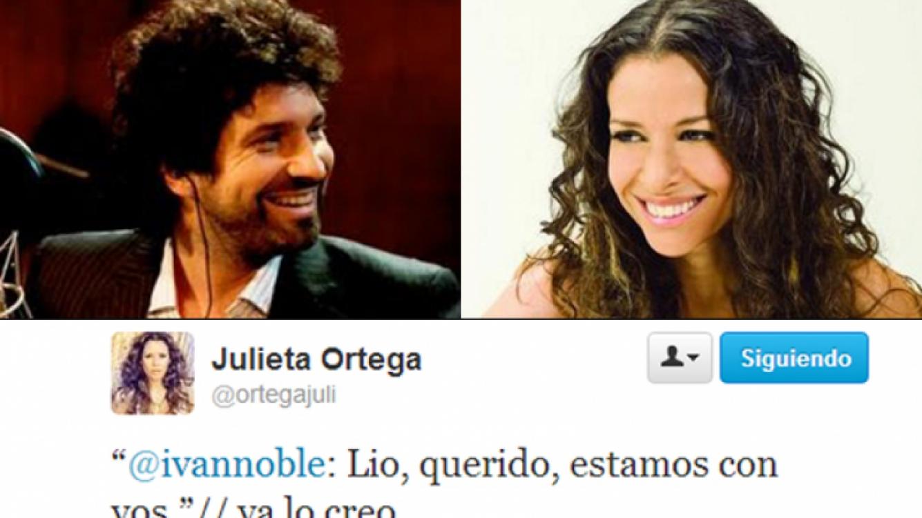 El divertido cruce tuitero entre Iván Noble y Julieta Ortega por las fotos de Messi con una stripper (Fotos: Web).