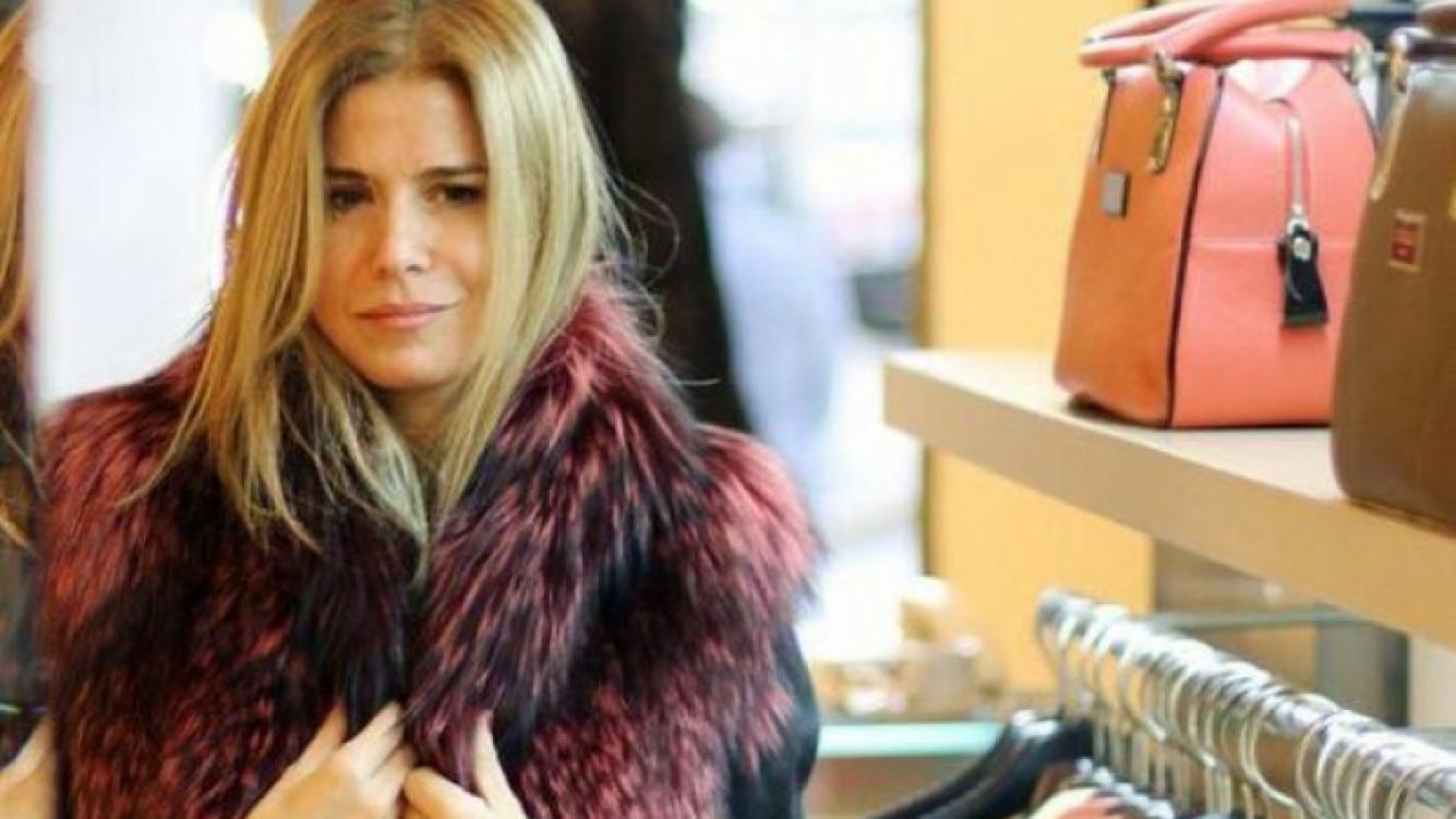 Flavia Palmiero envuelta en una insólita polémica por lucir pieles naturales. (Foto: @flaviapalmiero)