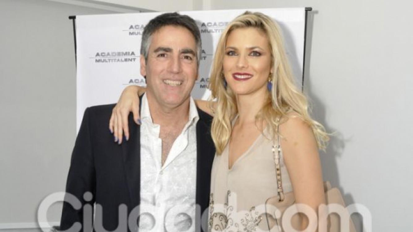 Paul García Navarro y su esposa Pía Slapka. (Foto: Jennifer Rubio-Ciudad.com)
