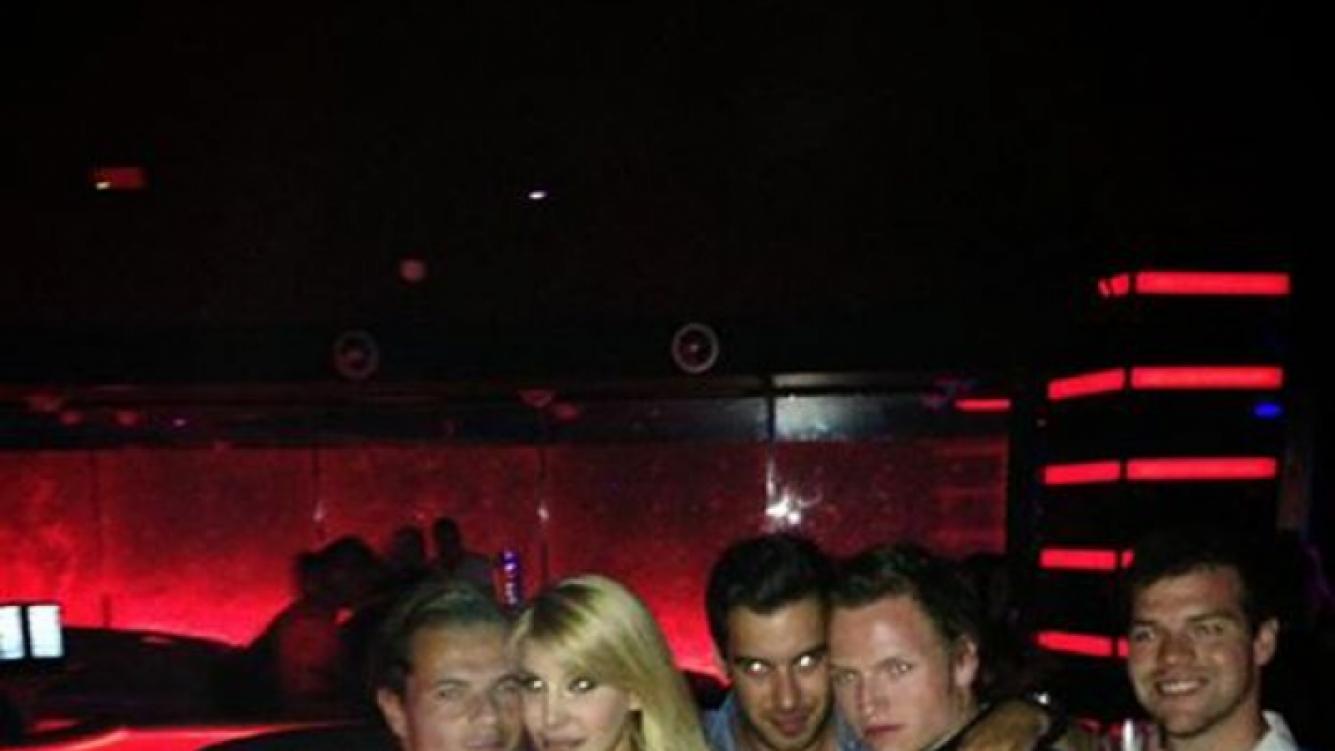 Charlotte Caniggia con su novio (Foto: Facebook).