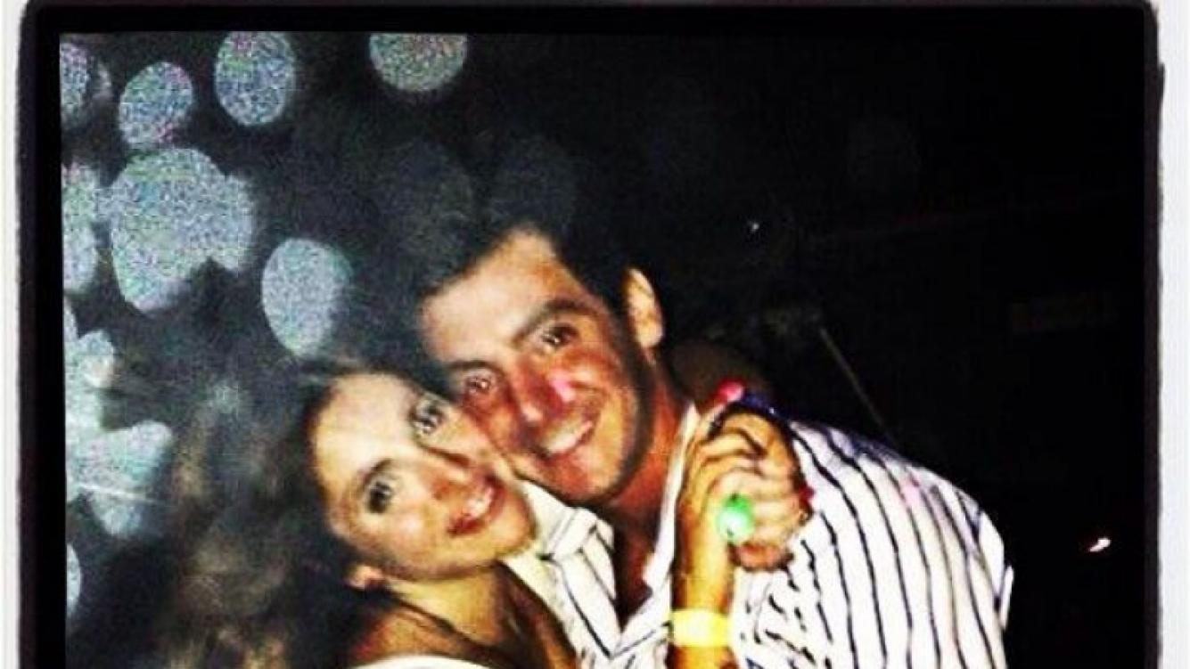 Gianinna Maradona, enamorada de su flamante, Luciano pareja (Foto: Twitter).