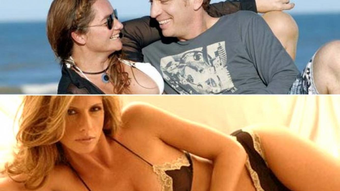 Arriba: Nancy Pazos y Santilli en épocas felices. Abajo: Analía Maiorana, ¿tercera en discordia? (Fotos: revista Noticias y Web)