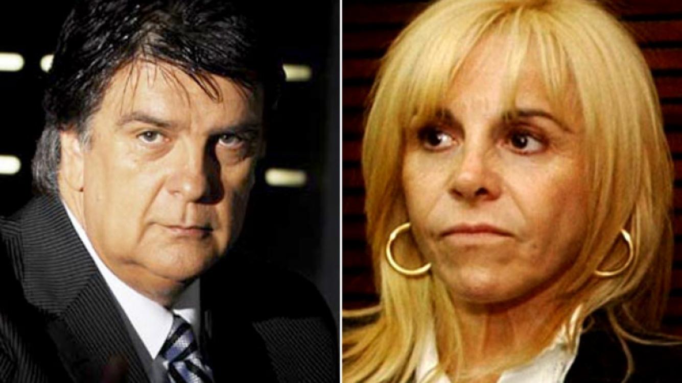 Luis Ventura contra Claudia Villafañe (Fotos: Web).