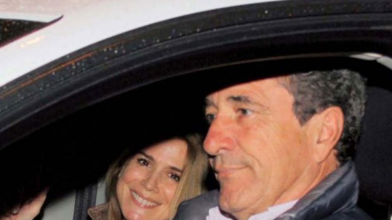 Flavia Palmiero y Luis Scalella, juntos. (Foto: revista Paparazzi)