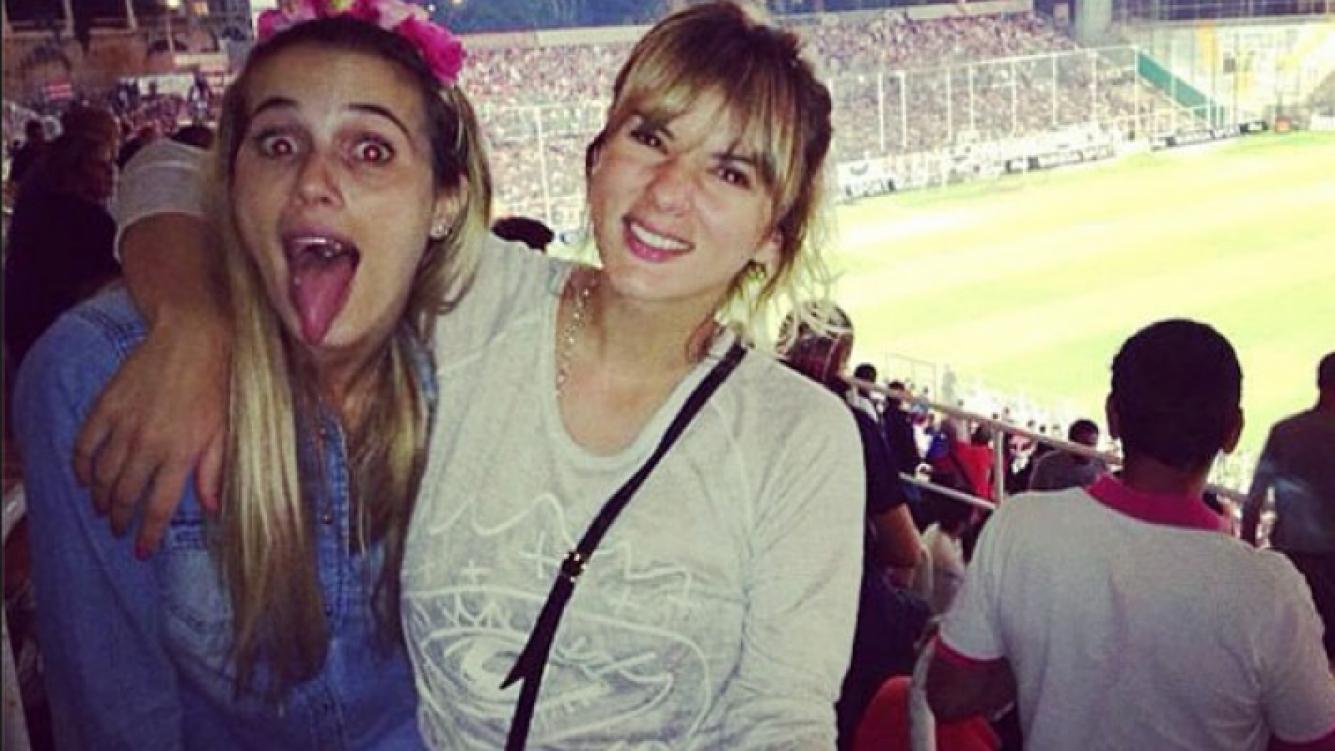 Chechu Bonelli y Gimena Accardi en Niza (Foto: Instagram).