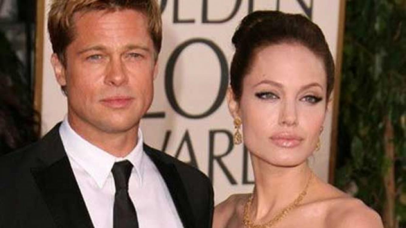Brad Pitt y Angelina Jolie, enfrentados por culpa de la Cienciología. (Foto: Web)