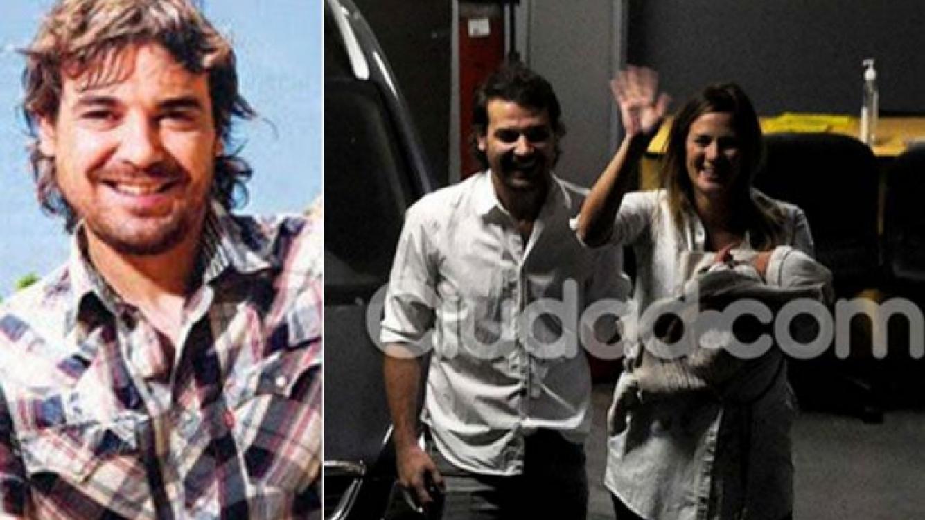 Pedro Alfonso contó cómo fueron las primeras horas con Olivia. (Fotos: Web y Ciudad.com)