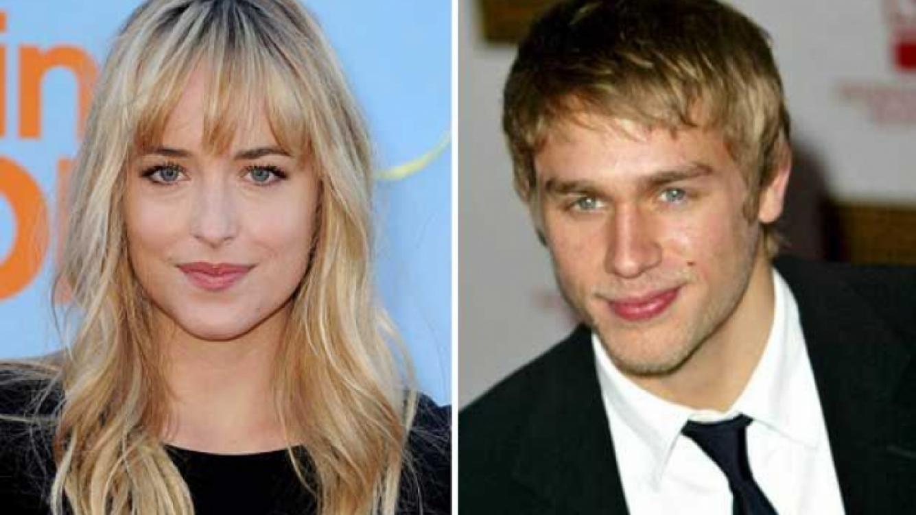 """Dakota Johnson y Charlie Hunnam, los protagonistas de """"50 sombras de Grey"""". (Foto: Web)"""