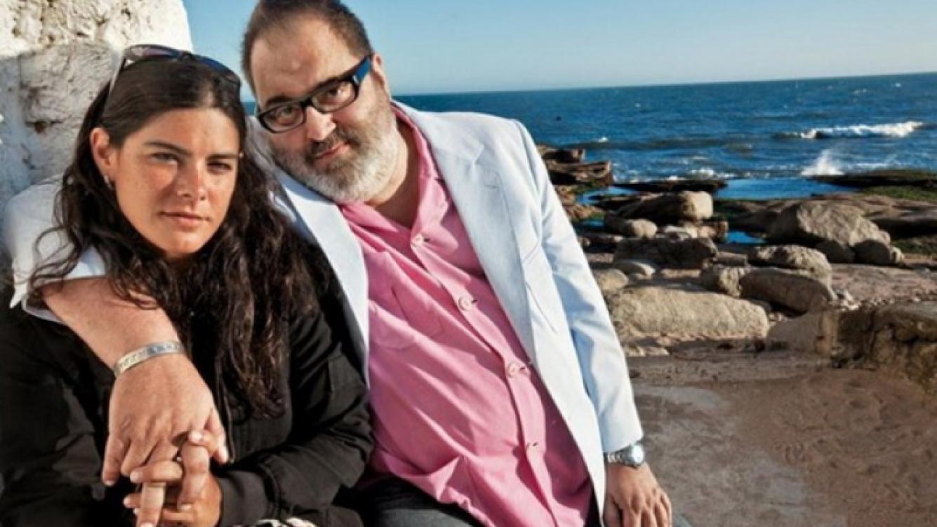 Jorge Lanata y Kiwita, en épocas felices. (Foto: archivo Web)