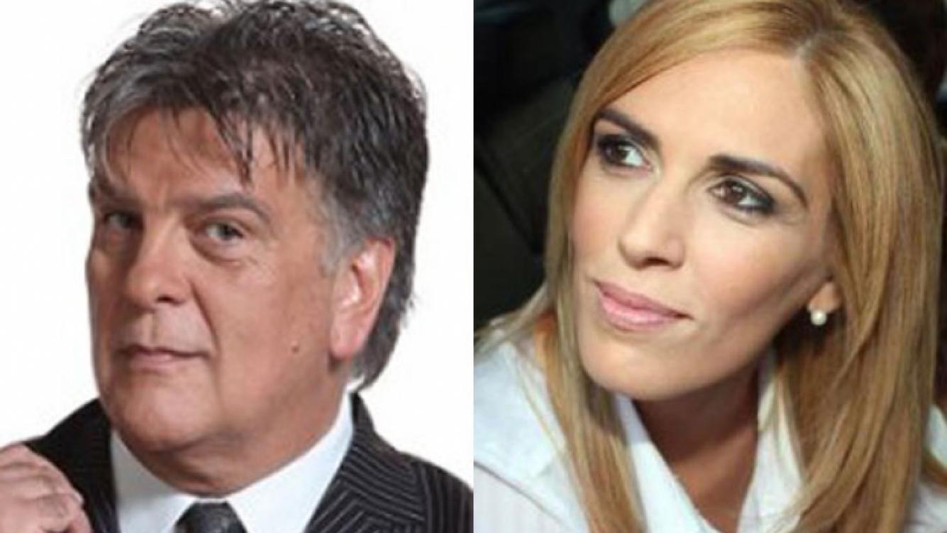 Luis Ventura y Viviana Canosa se encontraron en secreto (Fotos: Web).
