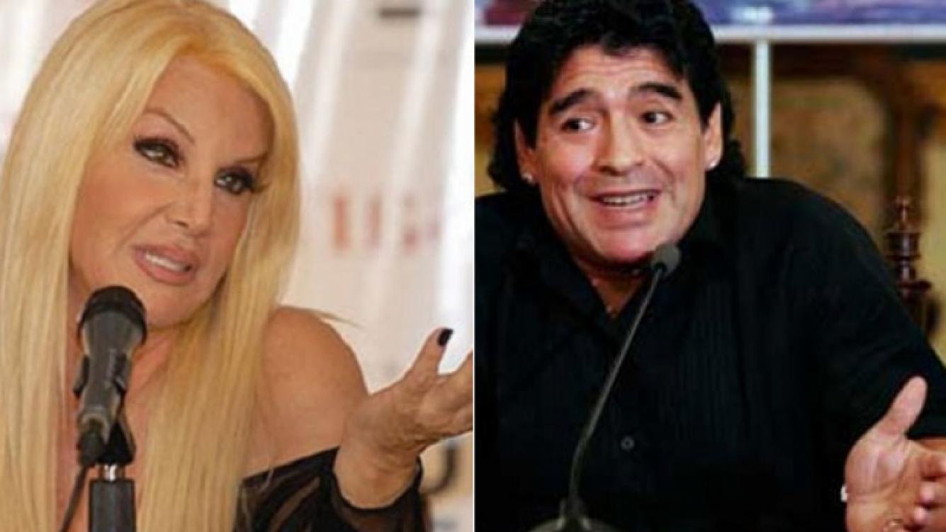 Susana Giménez y Diego Maradona, ¿paz firmada y visita al programa? (Fotos: Web).