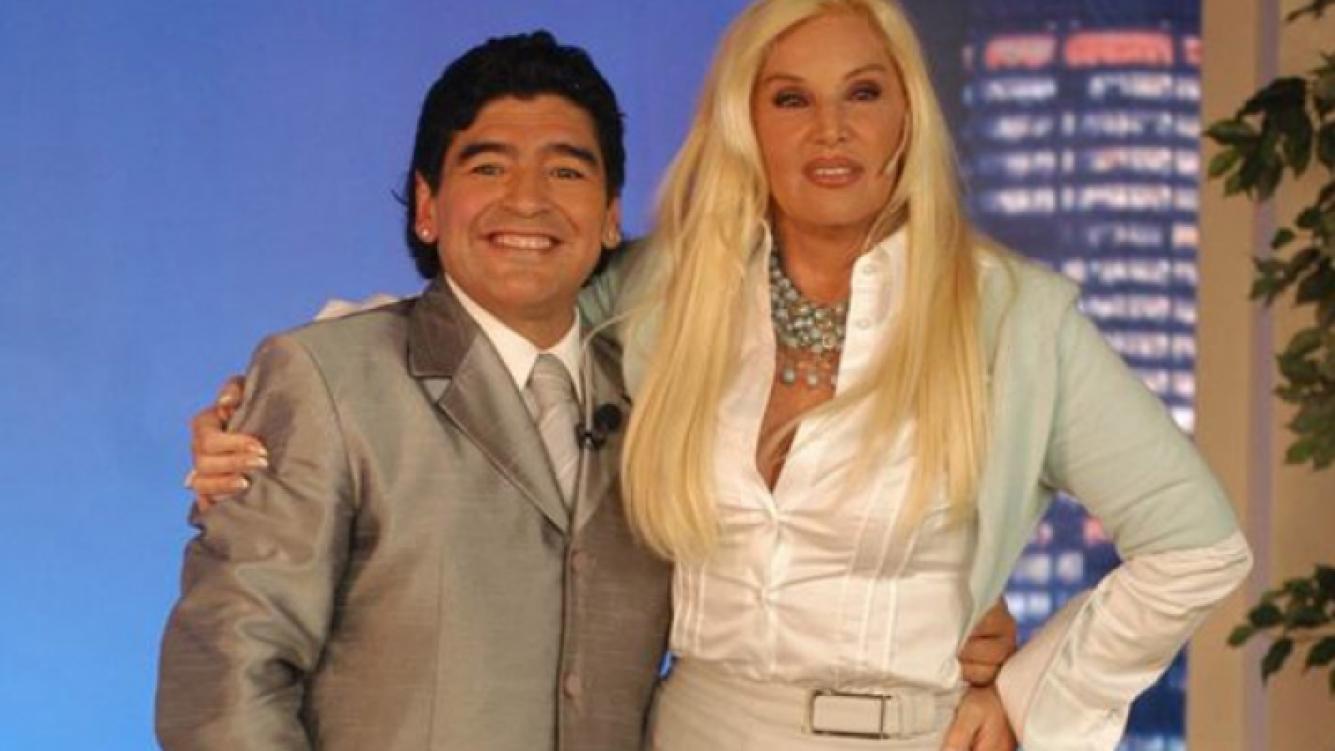 Diego Maradona y Susana Giménez. (Foto: archivo Web)