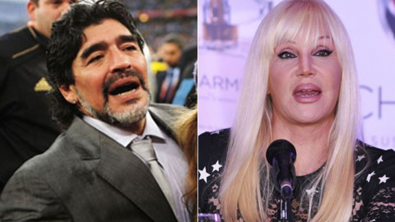 Cancelación confirmada: Diego Maradona no irá al living de Susana Giménez (Fotos: Web).
