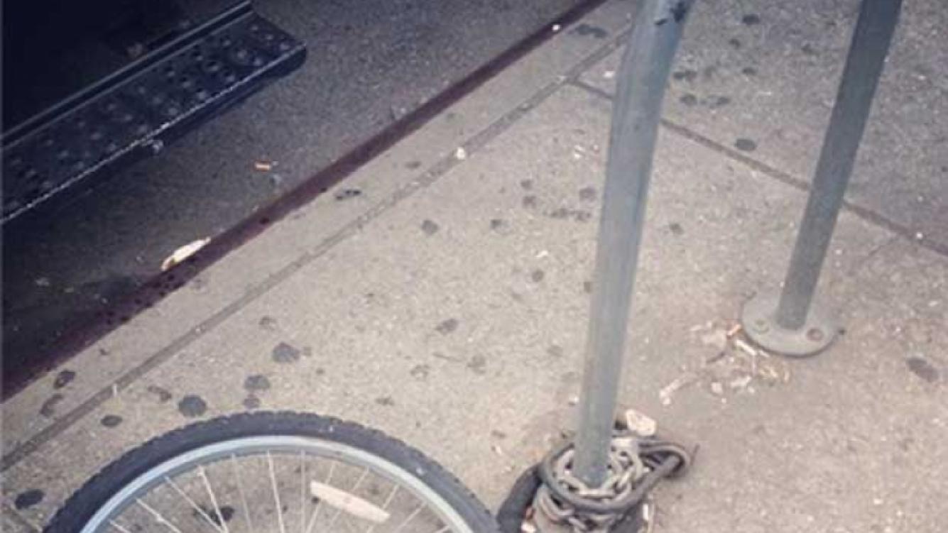 A Victoria Beckham le robaron la bicicleta en Nueva York. (Foto: Instagram V. Beckham)