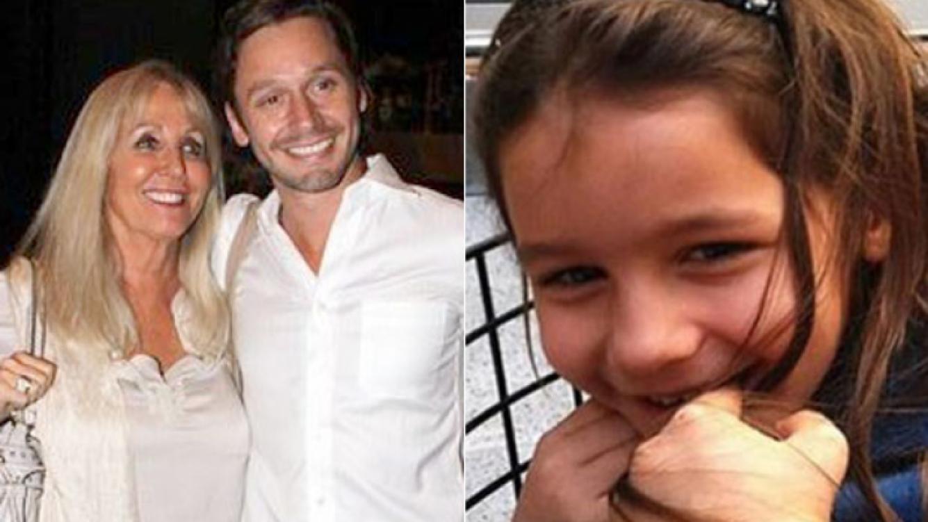 Isabel Luco junto a su hijo, Benjamín, y la pequeña Blanca (Fotos: Web).