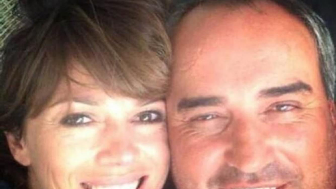 Coki Ramírez y Pato Cabrera, en su primera imagen oficial como pareja. (Foto: Twitter)