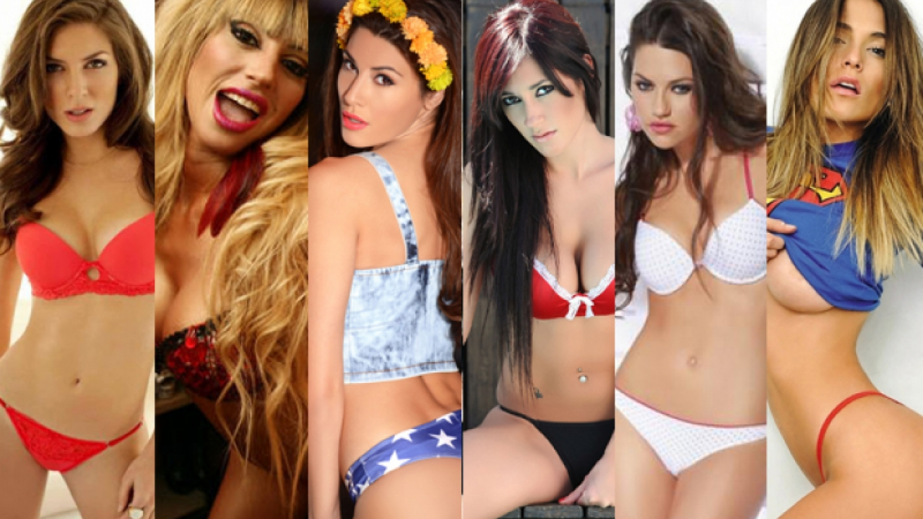 Eugenia Lemos, Stefi Xipolitakis, Ivana Nadal, Jésica Hereñú, Jujuy y Coty Alvarez.