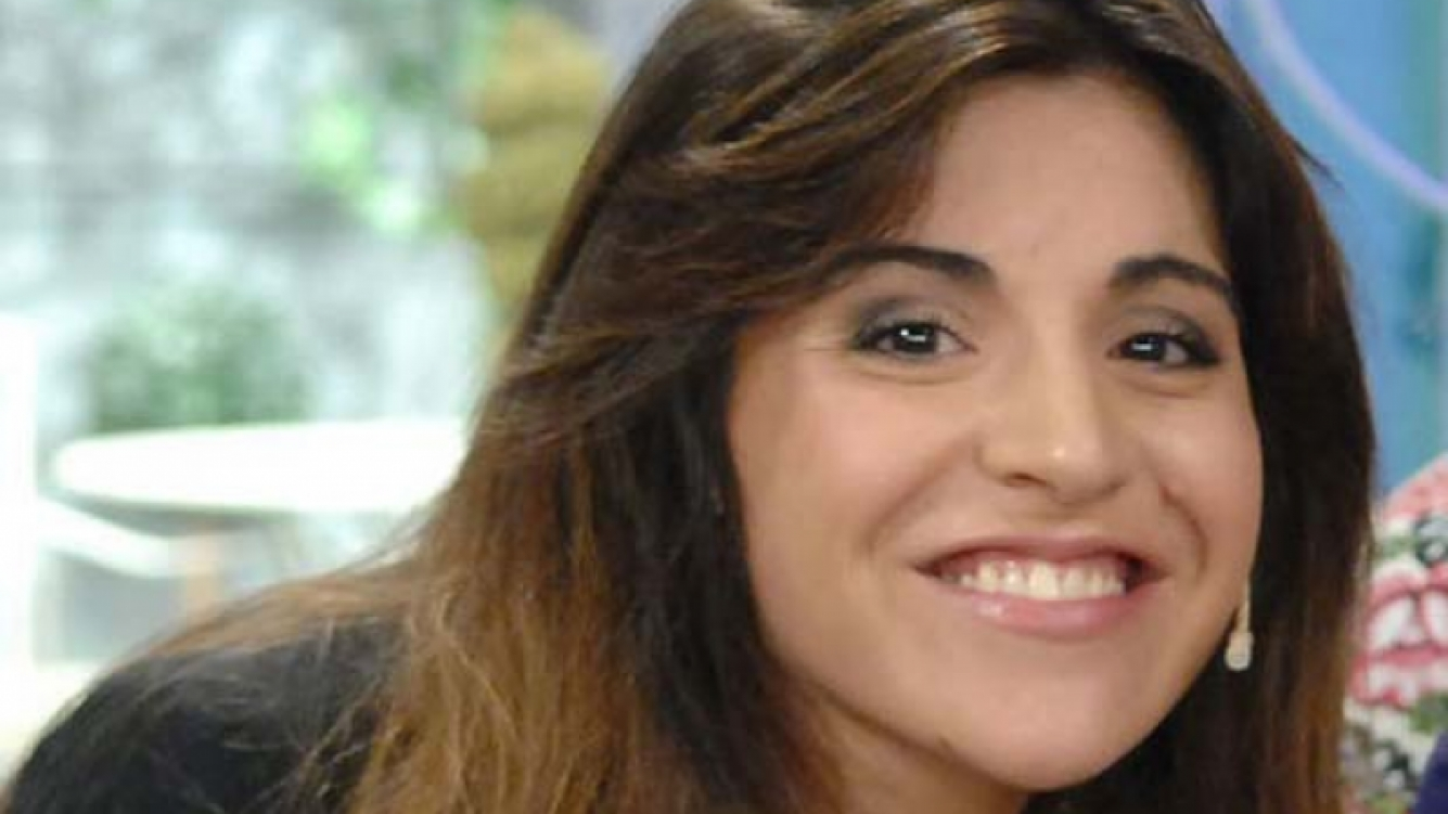 Gianinna Maradona en La Pelu de Flor de la V. (Foto: Web)
