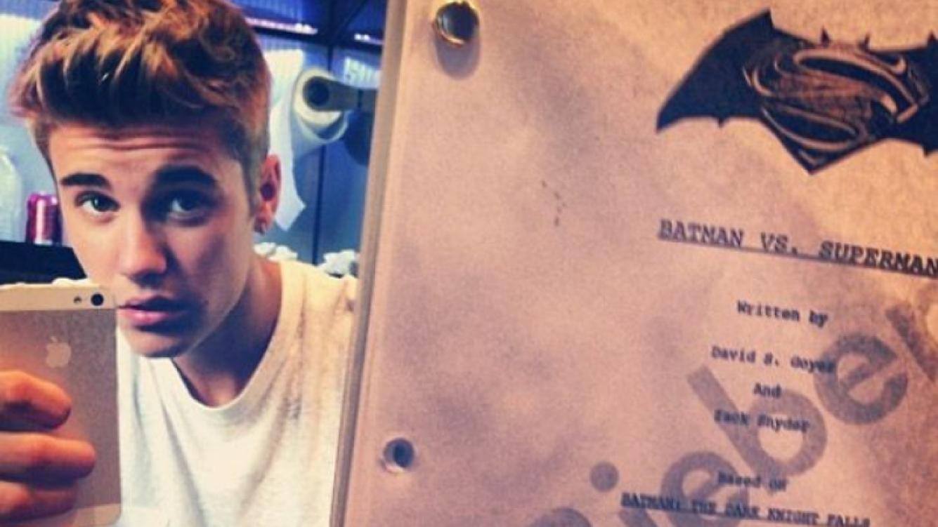 ¿Justin Bieber hará el papel de Robin en Batman vs. Superman? (Foto: Justin Bieber Instagram)