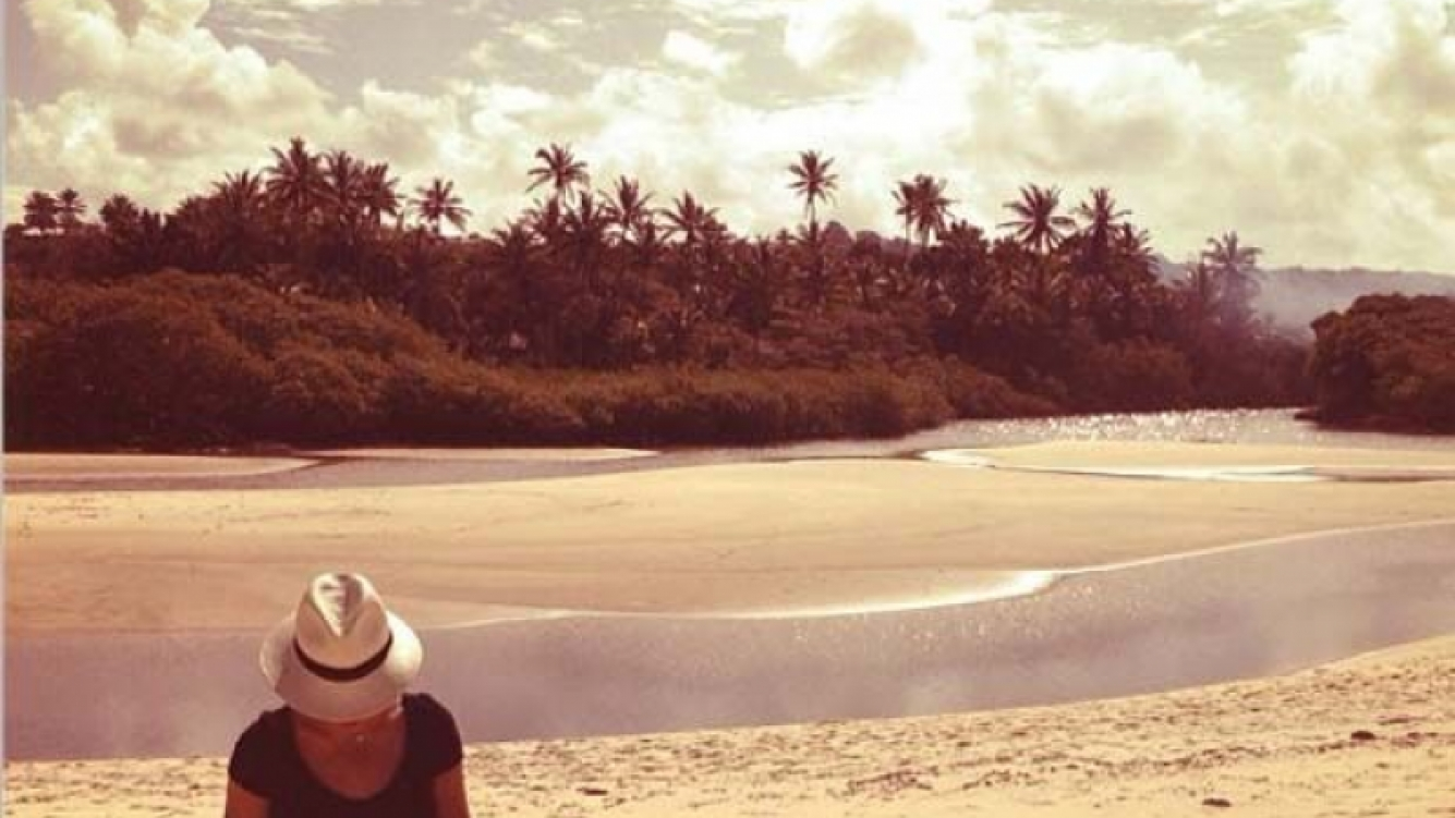 Beyoncé, relajada en el Mediterráneo. (Foto: Instagram)