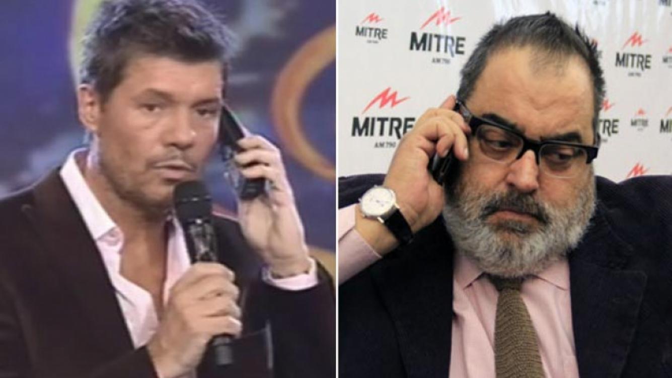 Jorge Lanata llamó a Marcelo Tinelli: quiere que le produzca un programa semanal en El Trece. (Fotos: Web)