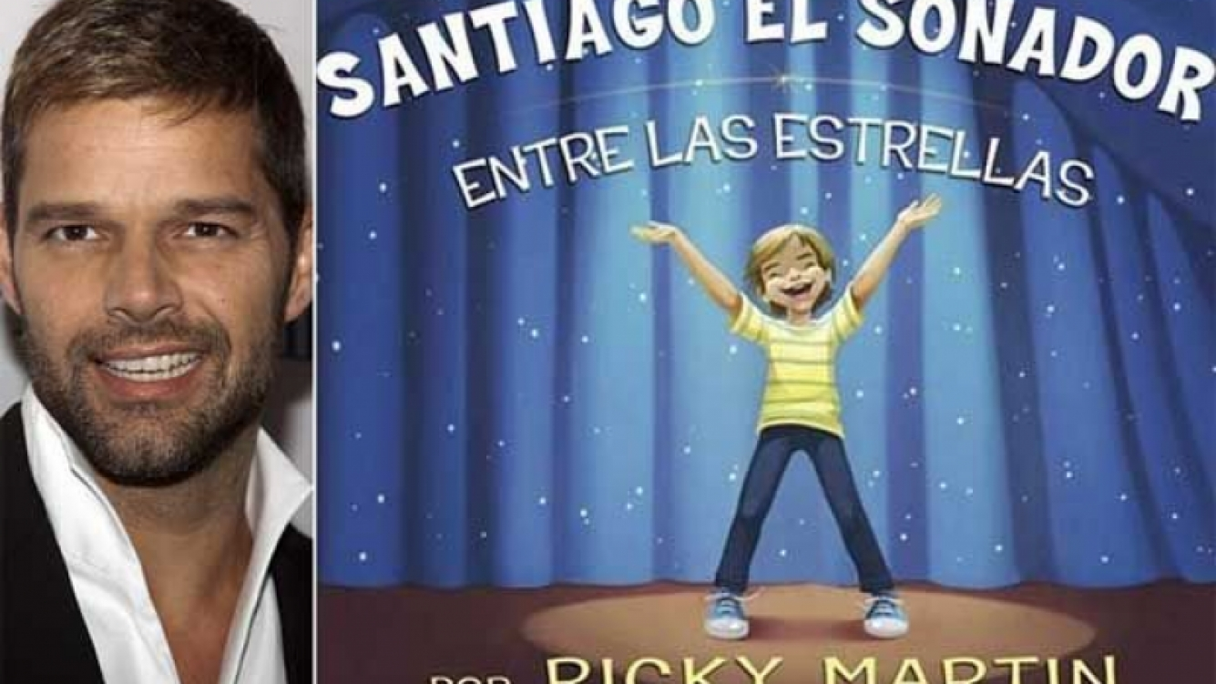 Ricky Martin publicó su primer libro infantil. (Foto: Web)