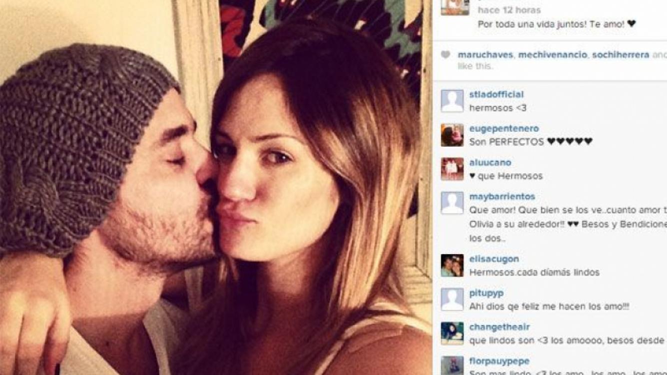 Pedro y Paula, románticos en la web (Foto: Instagram).