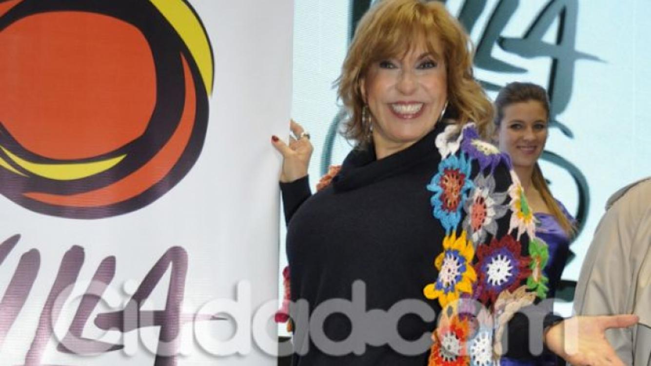 Georgina Barbarossa, renovada, en la presentación de la temporada de Carlos Paz 2014. (Foto: Jennifer Rubio-Ciudad.com)