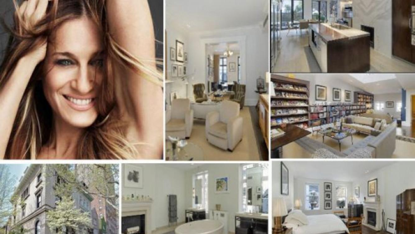 La espectacular mansion de Sarah Jessica Parker. (Foto: Web)