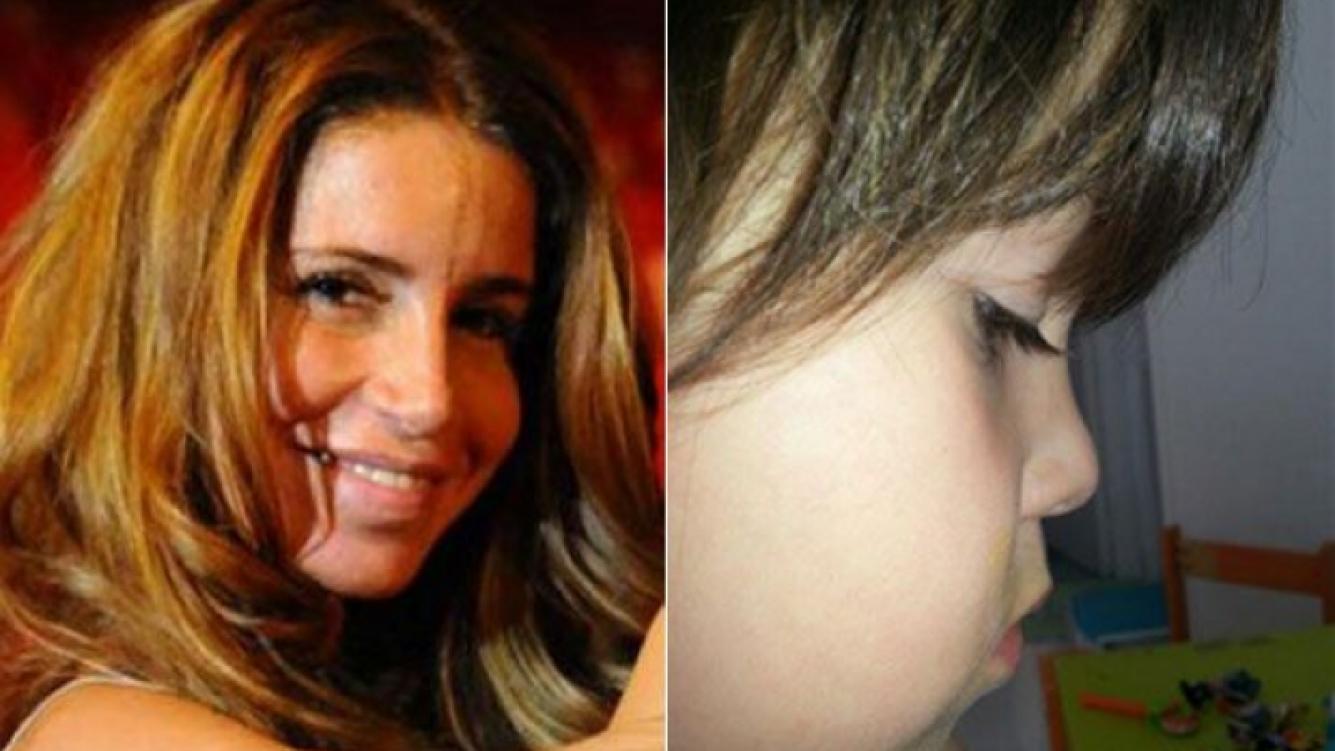 Florencia Peña y la foto de su hijo Juan en su cumple. (Fotos: Web y Twitter)