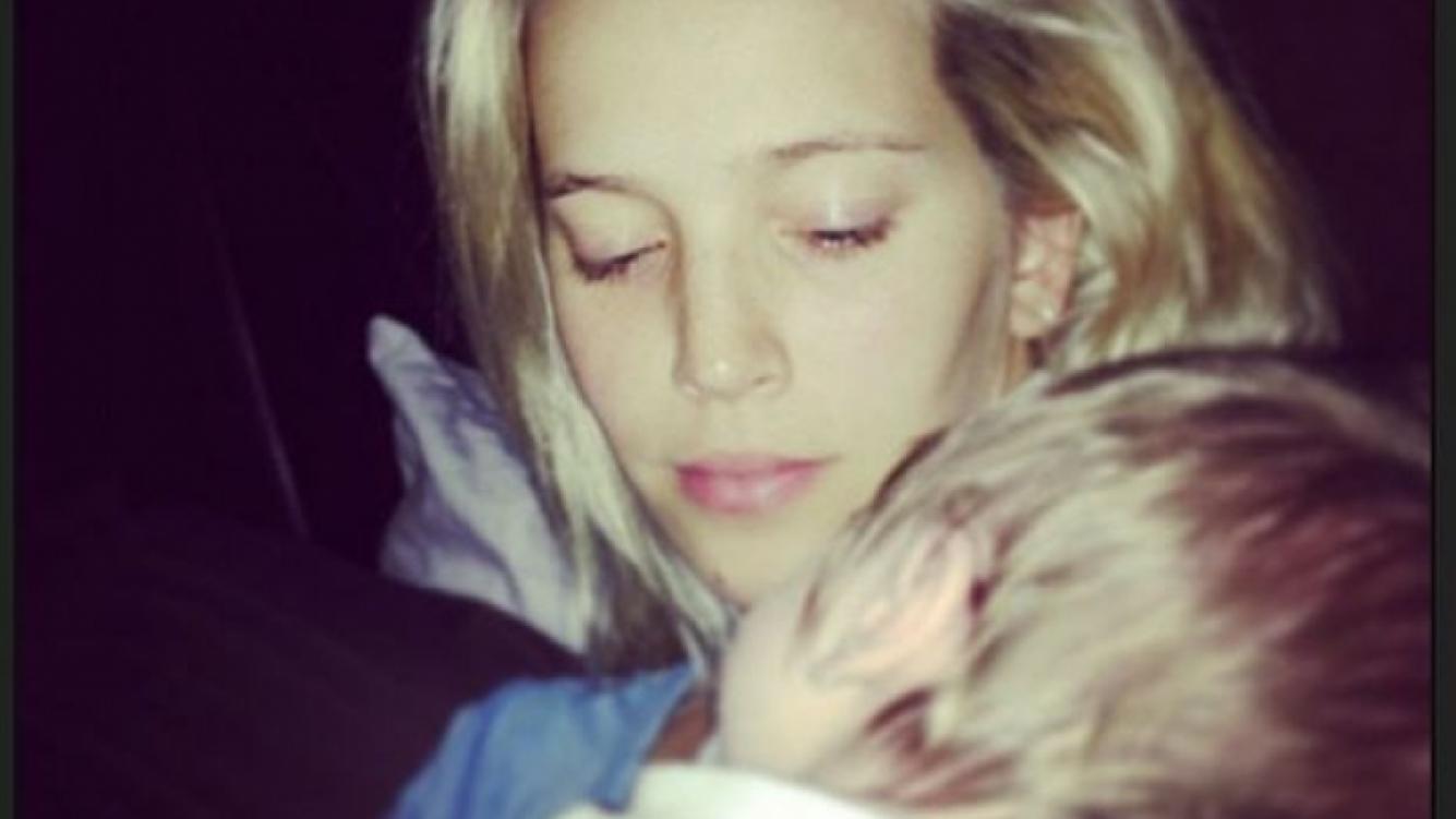 Luisana Lopilato y su hijo Noah. (Foto: Instagram lulopilato)