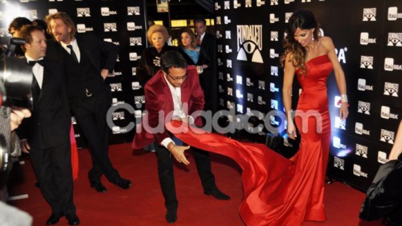 Facundo Arana y María Susini, impactantes en la gala de Fundaleu (Foto: Jennifer Rubio).