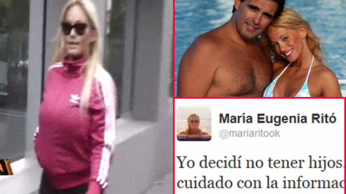 María Eugenia Ritó confesó que no quiso tener hijos. (Fotos: captura América, Twitter y Web)