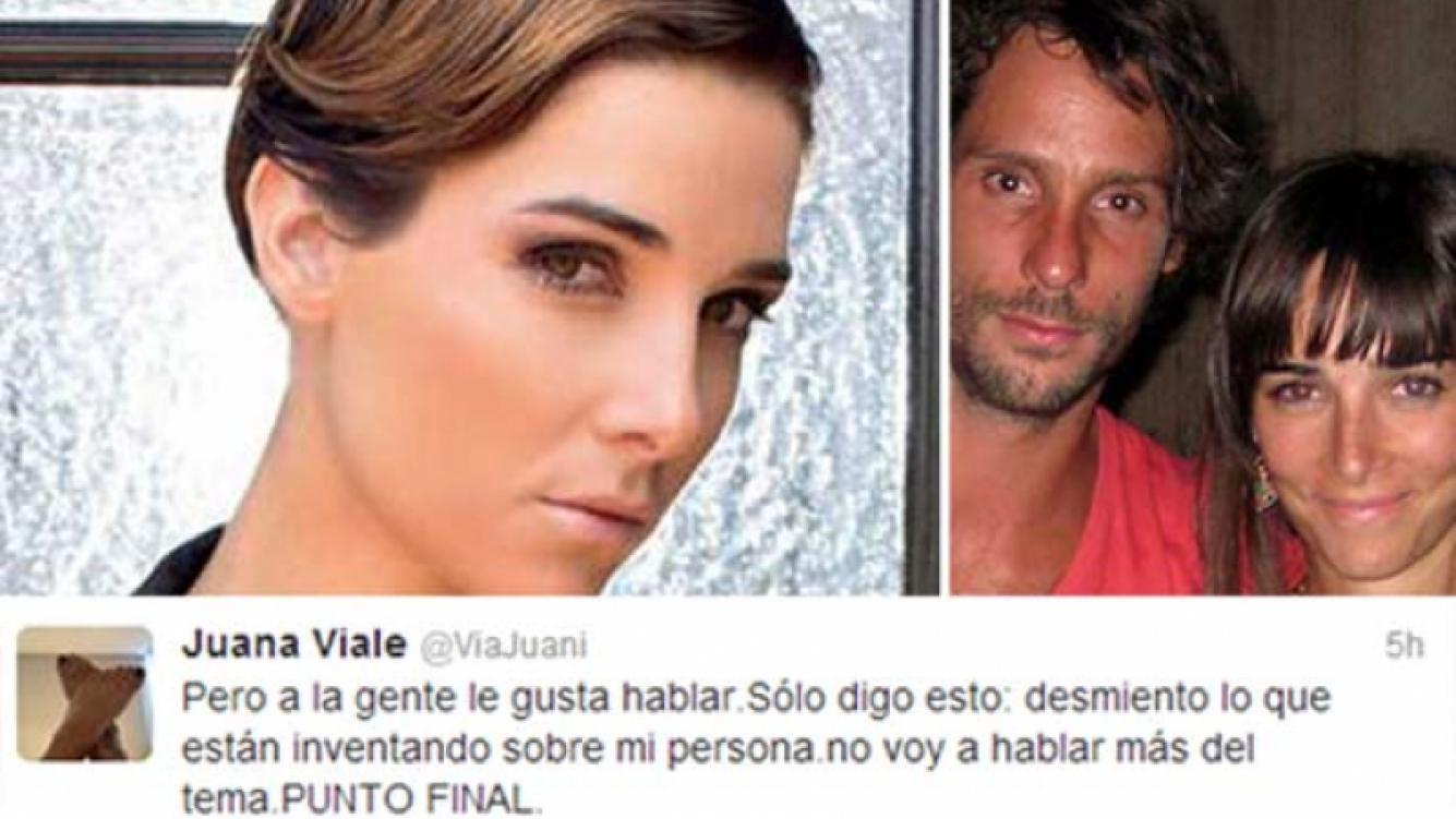 Juana Viale negó la crisis con Gonzalo Valenzuela.. (Fotos: Web)