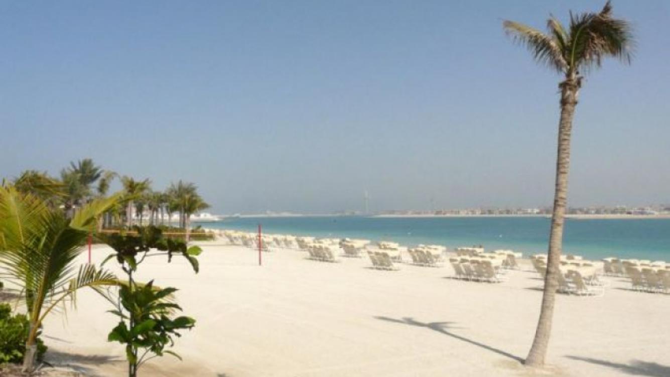 Las paradisíacas playas de Dubai. (Foto: Web)